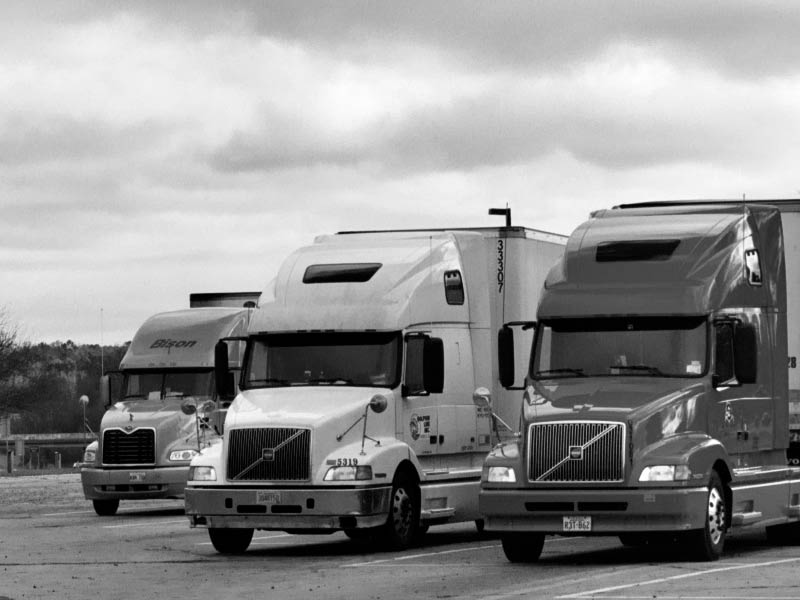 US trucks photo